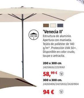 Oferta de Parasol por 58,99€