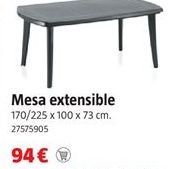 Oferta de Mesa extensible por 94€