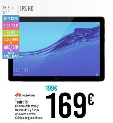 Oferta de Tablet HUAWEI T5  por 169€