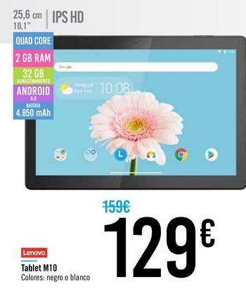Oferta de Tablet LENOVO M10 por 129€