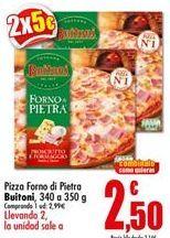 Oferta de Pizza congelada Buitoni por 2,99€