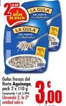 Oferta de Gulas La Gula del Norte por 3€