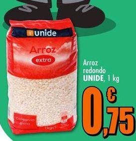 Oferta de Arroz redondo Unide por 0,75€
