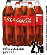 Oferta de Coca-Cola por 2,78€