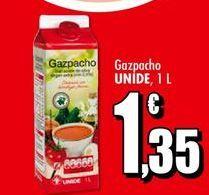 Oferta de Gazpacho Unide por 1,35€