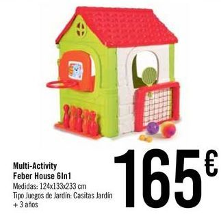 Oferta de Multi-Activity Feber House 6In1 por 165€