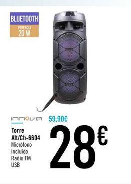 Oferta de Torre Alt/Ch-6604 por 28€