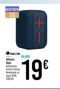 Oferta de Altavoz Rolc NGS por 19€