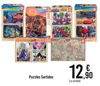 Oferta de Puzzles surtidos por 12,9€
