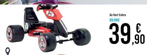 Oferta de Go Kart Cobra por 39,9€