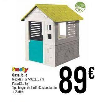 Oferta de Casa Jolie Smoby por 89€