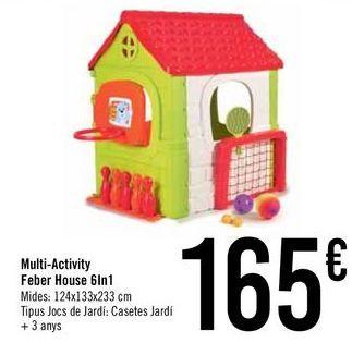 Oferta de Multi-Activity Feber House 6In1 por 165€