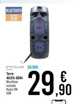 Oferta de Torre Alt/Ch-6604 por 29,9€