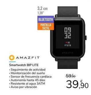 Oferta de Smartwatch BIP LITE por 39,9€
