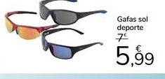 Oferta de Gafas de sol deporte por 5,99€