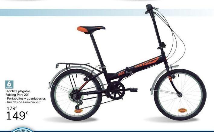 """Oferta de Bicicleta plegable folding park 20"""" por 149€"""