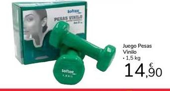 Oferta de Juego pesas Vinilo por 14,9€