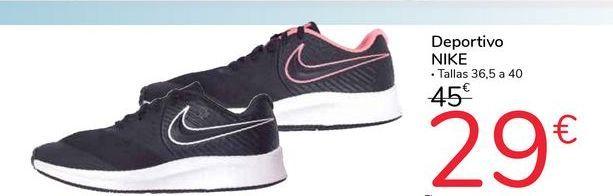 Oferta de Deportivo Nike  por 29€