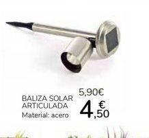 Oferta de Baliza Solar Articulada por 4,5€
