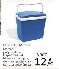 Oferta de Nevera Campos por 12,9€