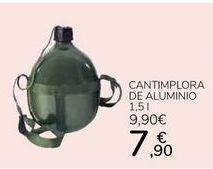 Oferta de Cantimplora de Aluminio por 7,9€