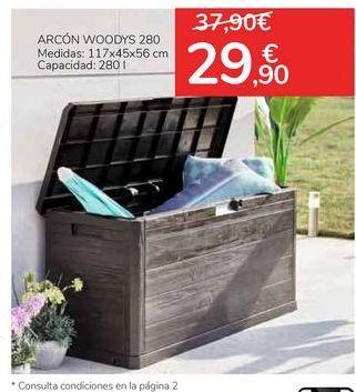 Oferta de Arcón Woodys 280 por 29,9€