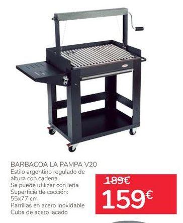 Oferta de Barbacoa La Pampa V20 por 159€