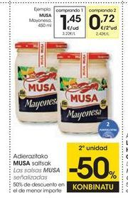 Oferta de Mayonesa Musa por 1,45€