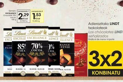 Oferta de Chocolate Excellence por 2,29€