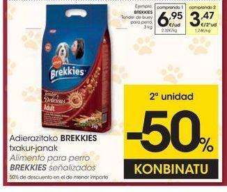 Oferta de Pienso para perros Brekkies por 6,95€