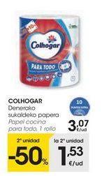Oferta de Papel de cocina Colhogar por 3,07€
