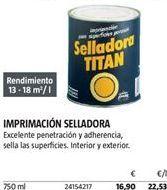 Oferta de Imprimación Titan por 16,9€