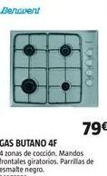 Oferta de Cocina de gas Benavent por 79€