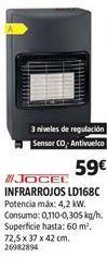 Oferta de Estufas Jocel por 59€