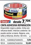 Oferta de Cinta adhesiva tesa por 7,7€