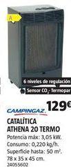 Oferta de Estufas campingaz por 129€