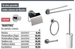 Oferta de Accesorios para baño Tatay por 9,95€