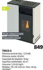 Oferta de Estufa de pellet por 849€