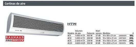 Oferta de Aire acondicionado por 189€