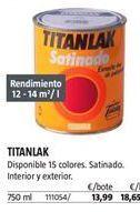 Oferta de Esmalte satinado Titan por 13,99€