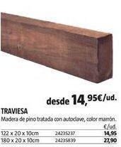 Oferta de Maderas por 14,95€
