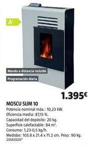 Oferta de Estufa de pellet por 1395€