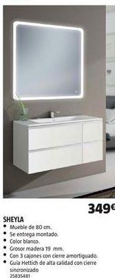 Oferta de Muebles de baño por 349€