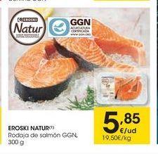 Oferta de Rodajas de salmón eroski natur por 5,85€