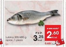Oferta de Lubina por 3,25€