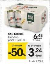 Oferta de Cerveza San Miguel por 6,48€