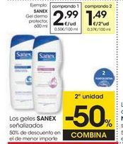 Oferta de Gel hidratante Sanex por 2,99€