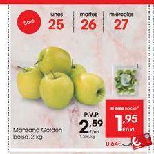 Oferta de Manzana golden por 2,59€