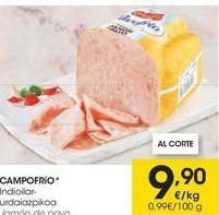 Oferta de Jamón cocido Campofrío por 9,9€