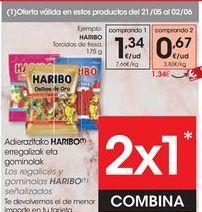 Oferta de Golosinas Haribo por 0,67€